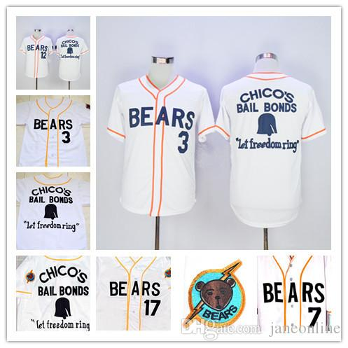 e009b587bae ... stitched baseball jersey online shop canada online cheap bad news bears  movie button down jersey 34711121314172022334477 bad news bears chicos bail  ...