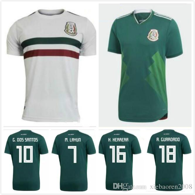 2018 2017 2018 Mexico National Team Jersey 17 18 Mexico