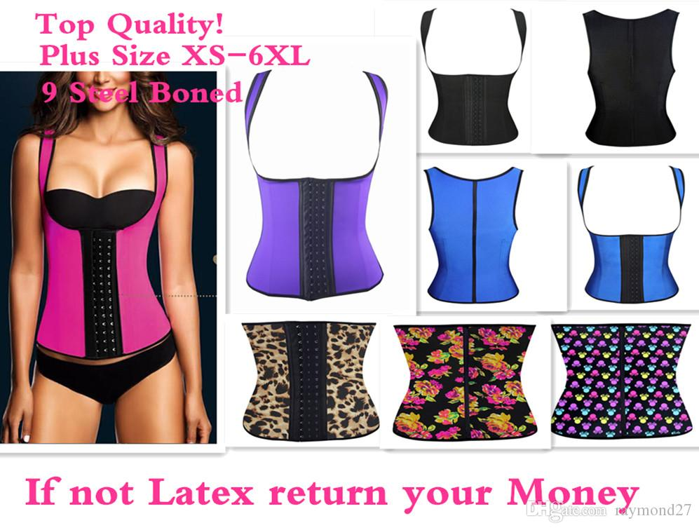 bee64aa7dc 2019 Sexy Latex Vest Corsets And Bustiers 2015 PLUS SIZE XS 6XL Hot Shapers  Waist Training Corset Top Ann Chery Waist Cincher Bodysuit Women From  Raymond27