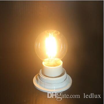 نوع إديسون G45 LED عكس الضوء خيوط LED لمبة الضوء 2W 4W E14 E27 B22 AC85-265V LED خيوط لمبة 360Degree Classic Edsion Led لمبة