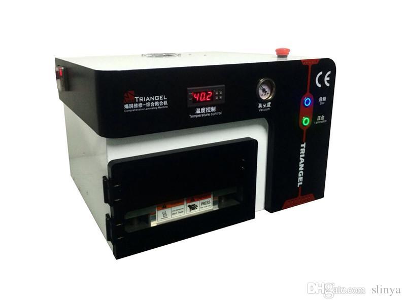 أحدث آلة الترقق oca فراغ مضخة الهواء ضاغط debubbler ل تحت 7 بوصة الهاتف الذكي شاشة lcd إصلاح