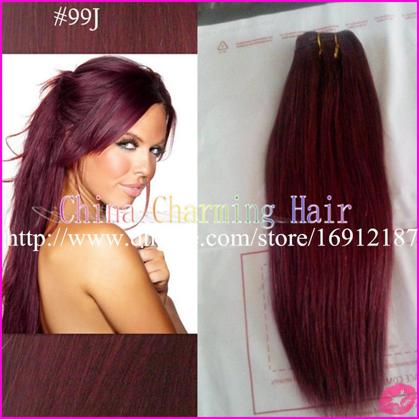 Wine red 99j burgundy malaysian hair weft 100 unprocessed human cheap indian hair weave top closure best bouncy hair weave pmusecretfo Image collections