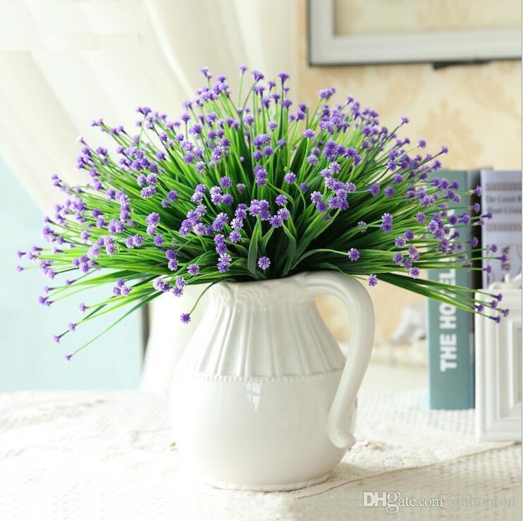 الزهور الاصطناعية جيبسوفيلا babysbreath محاكاة الزهور يهيئ سلسلة الديكور سطح المكتب الزهور البلاستيكية للزينة الزفاف