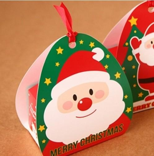 Xmas candy box christmas chocolate cookie bakery gift