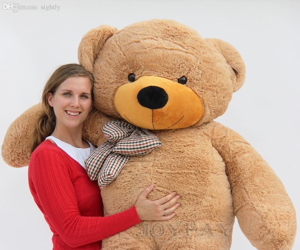 wholesale joyfay giant teddy bear 200 cm 2m 78 39 39 huge big. Black Bedroom Furniture Sets. Home Design Ideas