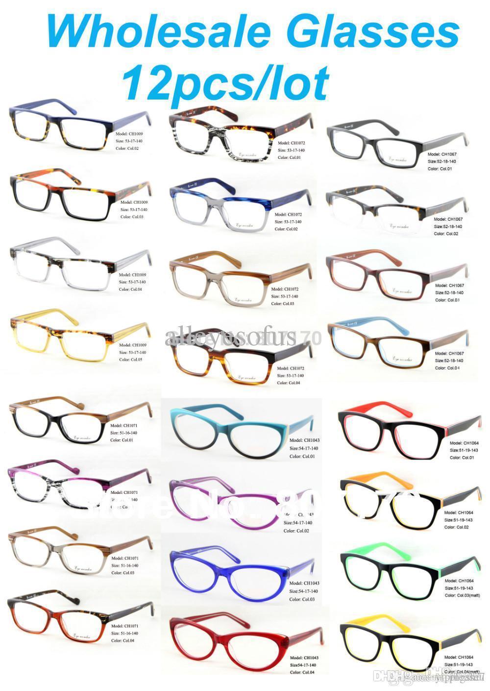 Großhandel Großhandel Eyewear Zubehör Männer Augen Vintage Brillen ...