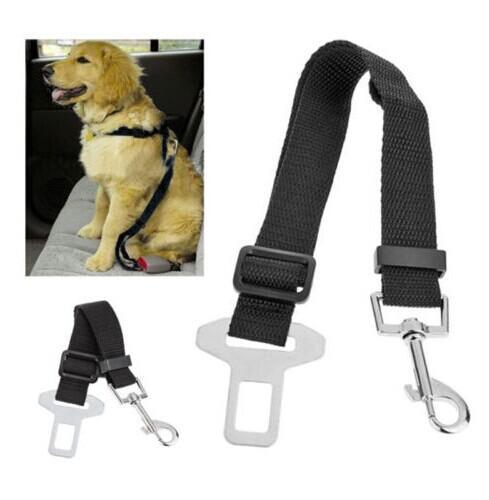 20 sztuk Pies Bezpieczeństwa Pet Pas Pas Pasek Samochodowy Wiązanie wielofunkcyjne
