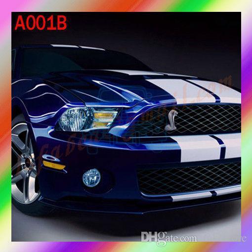 Ford Mustang 3d Cobra Badge Front Grille Emblem A001b Auto Car