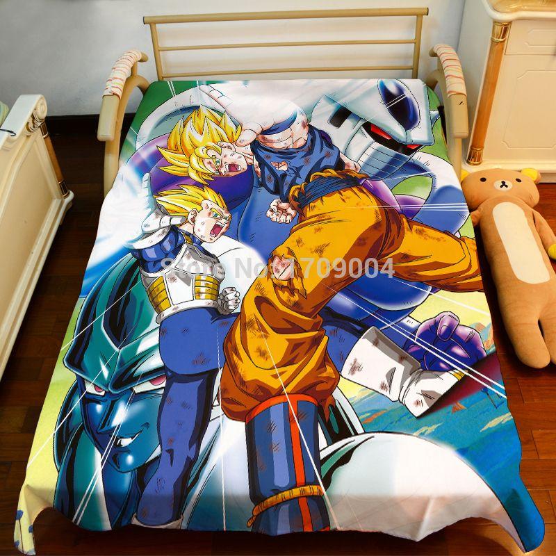 Wholesale Anime Manga Dragonball Z Bed Sheet 150*200cm Bedsheet 002 Manga  Cartoon Sheet Silver Sheet Online With $81.09/Piece On Bdhomeu0027s Store |  DHgate.com