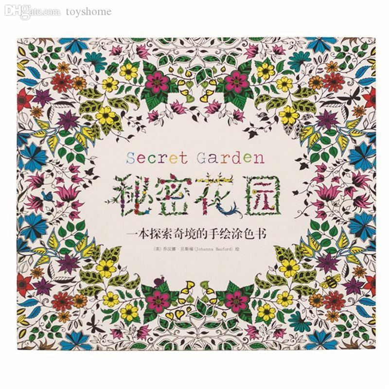 Discount Wholesale Book Secret Garden Chinese Version Coloring