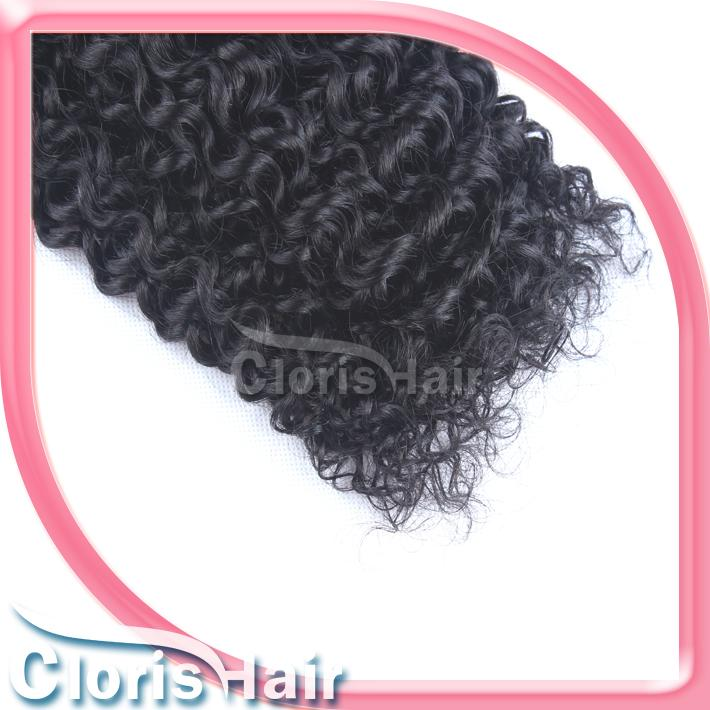 Kinky Curly Brazilian Human Hair Weave Bundle Deals Cheap tissage bresilienne Jerry Curl Sew in Remi Hair Extensions