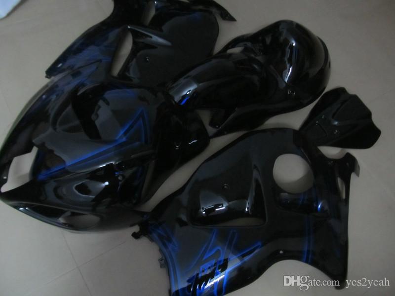 KIT de carrosserie FAIRING pour SUZUKI Haybusa GSXR1300 1996 1999 2000 2007 Carrosserie GSX-R1300 96 97 00 03 07 GSXR 1300 Pièces de carénage