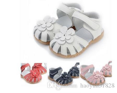 34d628c82 2016 New Fashion Children Girl S Summer Shoes Colorful Flower Genuine  Leather Sandals For Baby Girl Kids Cheap Boots Toddler Boy Sandles From  Haoyun51828