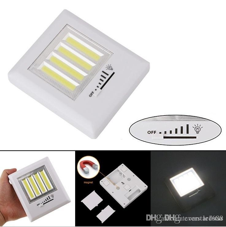 Dimmer cob led wall light with switch ultra bright 4 cob 8w new led dimmer cob led wall light with switch ultra bright 4 cob 8w new led technology project light night light battery operated cordless magnetic night lights aloadofball Image collections
