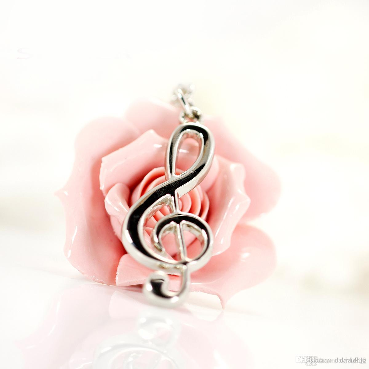 Factory Direct Beautifully Creative Music Notation Key Ring Pendants ...