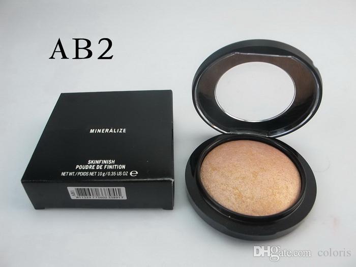 Mineralize Skinfinish Powder Foundation Maquillage professionnel Visage Pressé Fondation avec Nom anglais mini order
