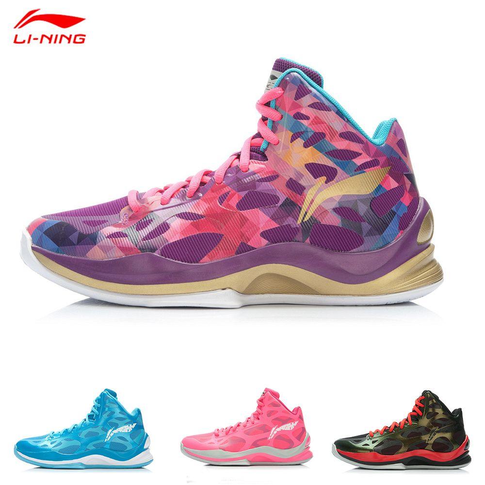 wholesale li ning men basketball shoe high cut sonic 3 men colorful