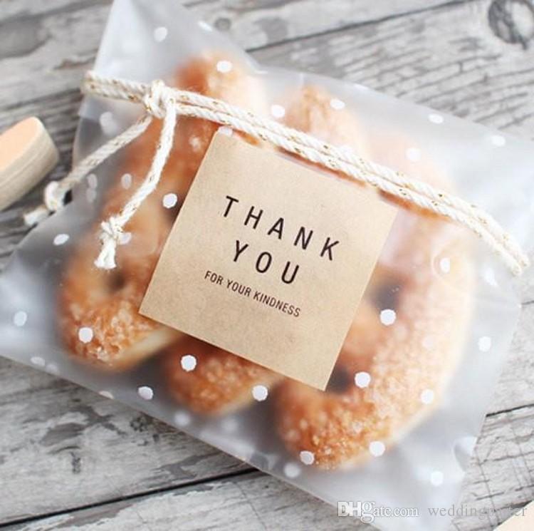 120pcs Danke Hochzeit Bevorzugungen Geschenke Siegel Aufkleber Square Kraft Verpackung Siegel Etiketten Verpackung Etiketten Umschlag Dichtungen Weiß
