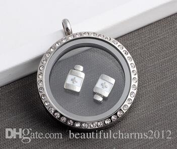 Cross Bottle DIY Alloy Floating Charms Fit For Magnetic Memory Glass Living Lockets Fashion Jewelry Making