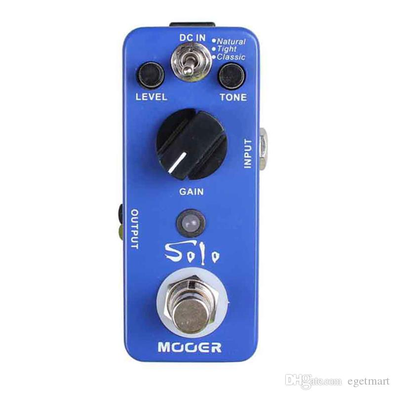 Mooer Solo Distortion Pedal All-sided high-gain distortion suit for solo playing Full metal shell True bypass Free shipping MU0353