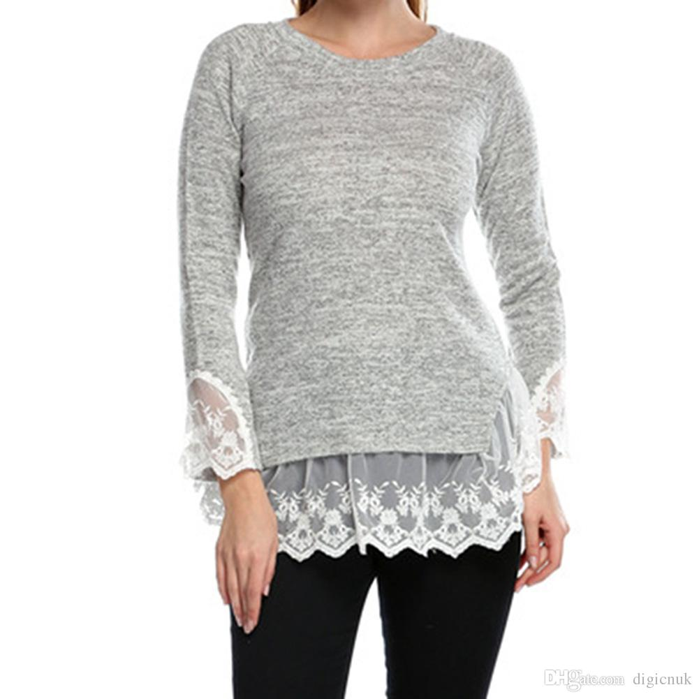 Shop Women's Sweaters Online, S5q Women'S Autumn And Winter Loose ...