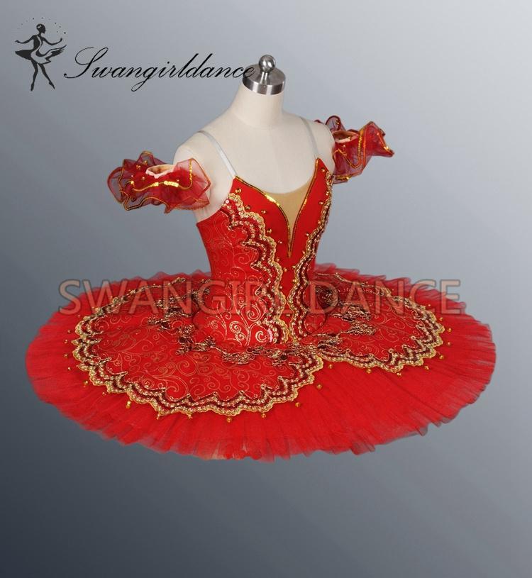 women red ballet tutus blue professional classical ballet costumes for performance ballet tutu girlsBT8944