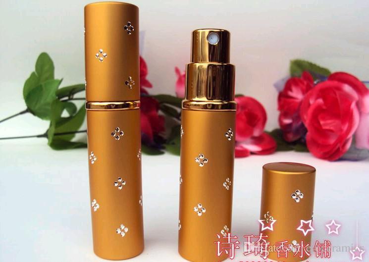 5ml parfymflaska reser parfymförstöring påfyllningsbar spray tom flaska toppkvalitet fedex dhl snabb leverans 500 stycken upp