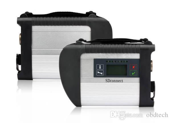 DHL бесплатно новый MB Star Compact 4 полный комплект с поддержкой Wi-Fi Multi-anguages SD Connect C4 для диагностики Mercedes Benz хорошее качество