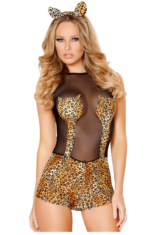 Sexy jungle woman costume