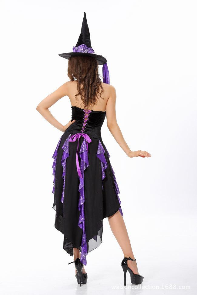 Sexy Witch Costumes Adult Purple Anime Cosplay Costumes ...