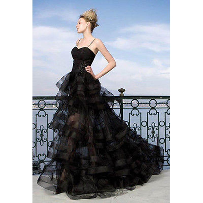 Elegant Evening Dresses Ball Gown Spaghetti Straps Evening Dresses ...
