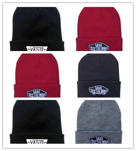 Cheap Hot Van Off The Wall Winter For Men Women Van Beanie Knitted Wool Hat  Fashion Gorro Bonnet Touca Plus Warm Wool Cap Thicker Mask Ski Canada 2019  From ... f4b94950754