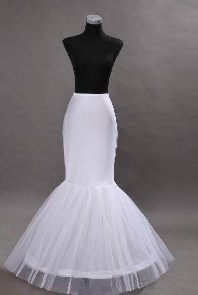 Büyük indirim! Ücretsiz Kargo 2014 Beyaz Denizkızı Petticoats Gelin Crinoline Reklam Gelinlikler Için Gelinler Gelin Aksesuarları