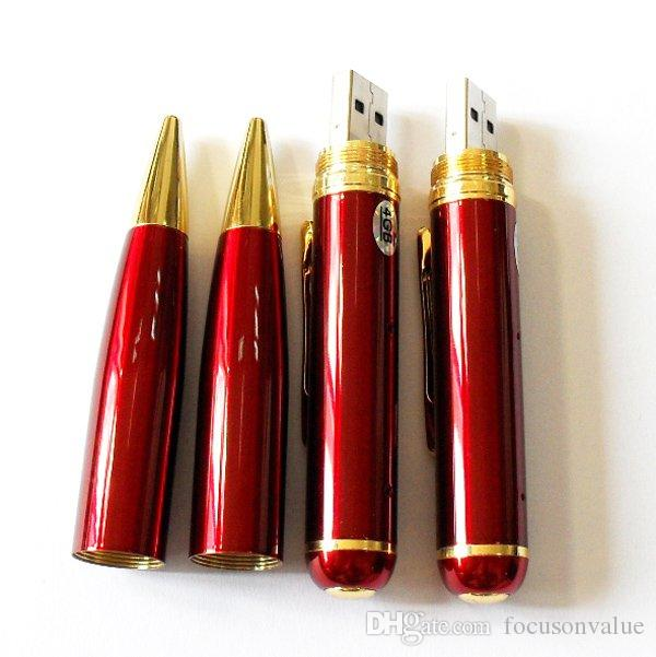 8GB pen camera HD Pen DVR pinhole camera mini Audio Video Recorder mini Pen camera black/blue/red in retail box dropship