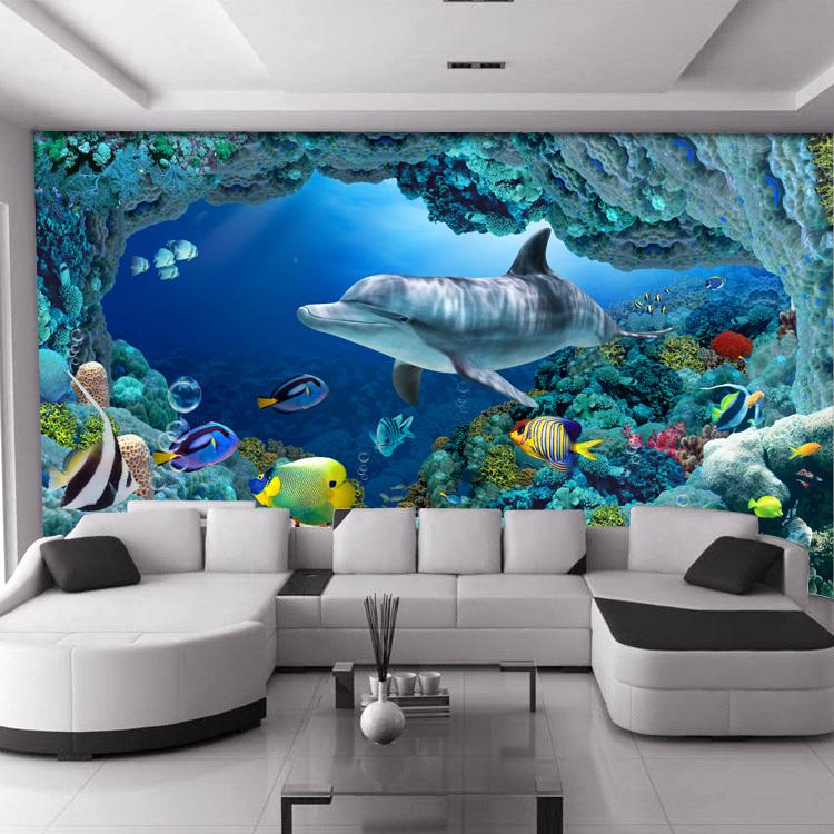 custom large mural living room tv background wallpaper children 39 s room 3d stereoscopic. Black Bedroom Furniture Sets. Home Design Ideas