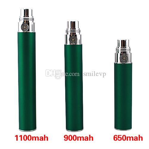 E Cig EGO Batteries Colorful EGO T Battery for 510 Thread Vaporizer MT3 CE4 CE5 CE6 ViVi Nova DCT atomizer 650/900/1100mah