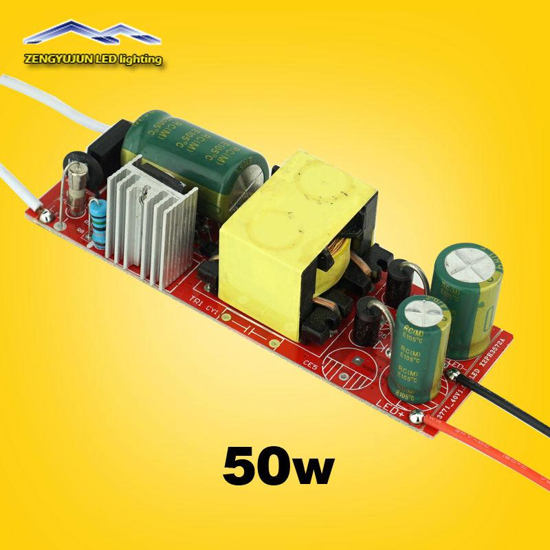 50w Led Driver Power Supply: 2019 50W Led Driver 1500Ma Lamp Driver Power Supply Light