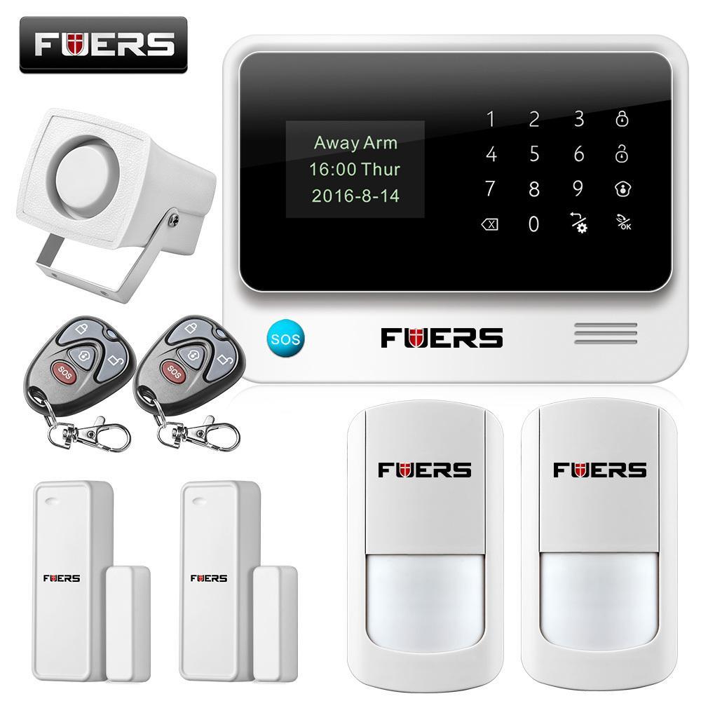 Großhandel Fuers 2017 Update G90b Wifi Gsm Home Security Alarm ...