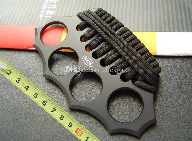 2015 AZAN Knuckle Duster Cold Steel TAIPAN Hunting Camping Hiking