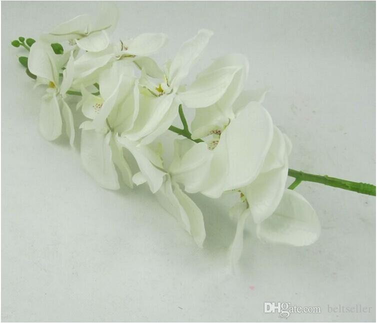 100CM long Elegant Dancing Phalaenopsis Artificial Silk Flowers Christmas Home Ornament Bouquet Wedding Centerpieces Decorations Supplies