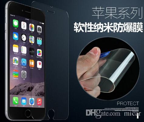 Нано мягкая взрывозащищенная мембрана ультратонкая защитная пленка для Iphone 6 6s plus лучше, чем закаленное стекло