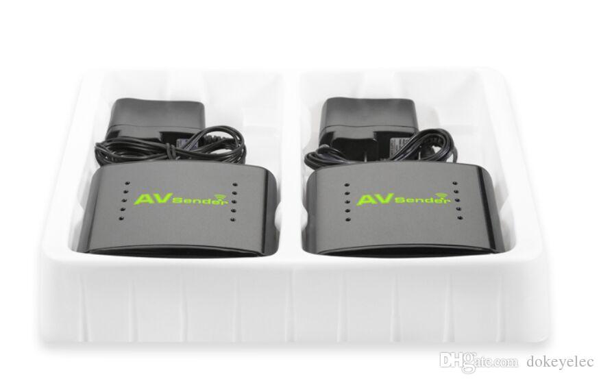 PAT-360 2.4GHz 350m wireless AV sender digital camera Audio Video Transmitter Receiver with Long Range Transmission Analog or Digital PAT360