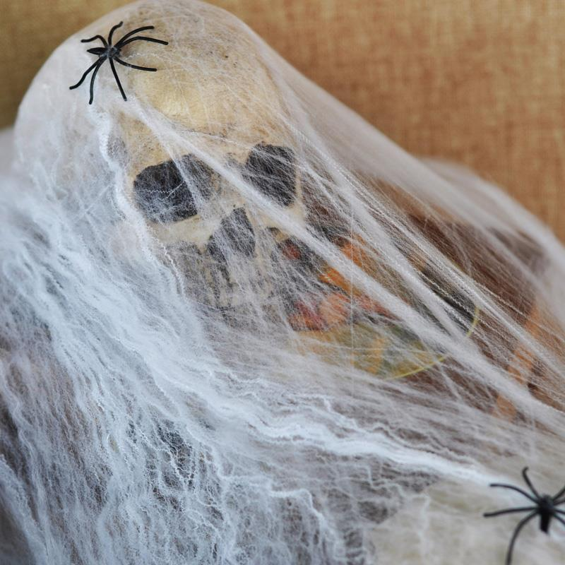 2018 event party supplies halloween haunted house prop decoration supplies a large white spider web prom decorations from naland 3078 dhgatecom