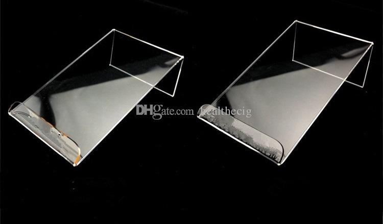 عالمي عام واضح شفاف أكريليك جبل حامل عرض موقف يظهر ل iPhone سامسونج الهاتف المحمول الهاتف المحمول