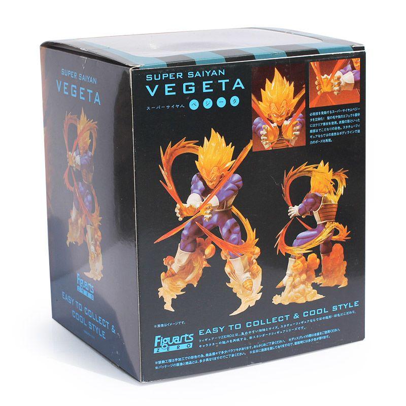 Dragon Ball Super Saiyan Vegeta Bataille État Final Flash PVC Action Figure Collection Modèle Jouet Enfants Cadeau 15 cm
