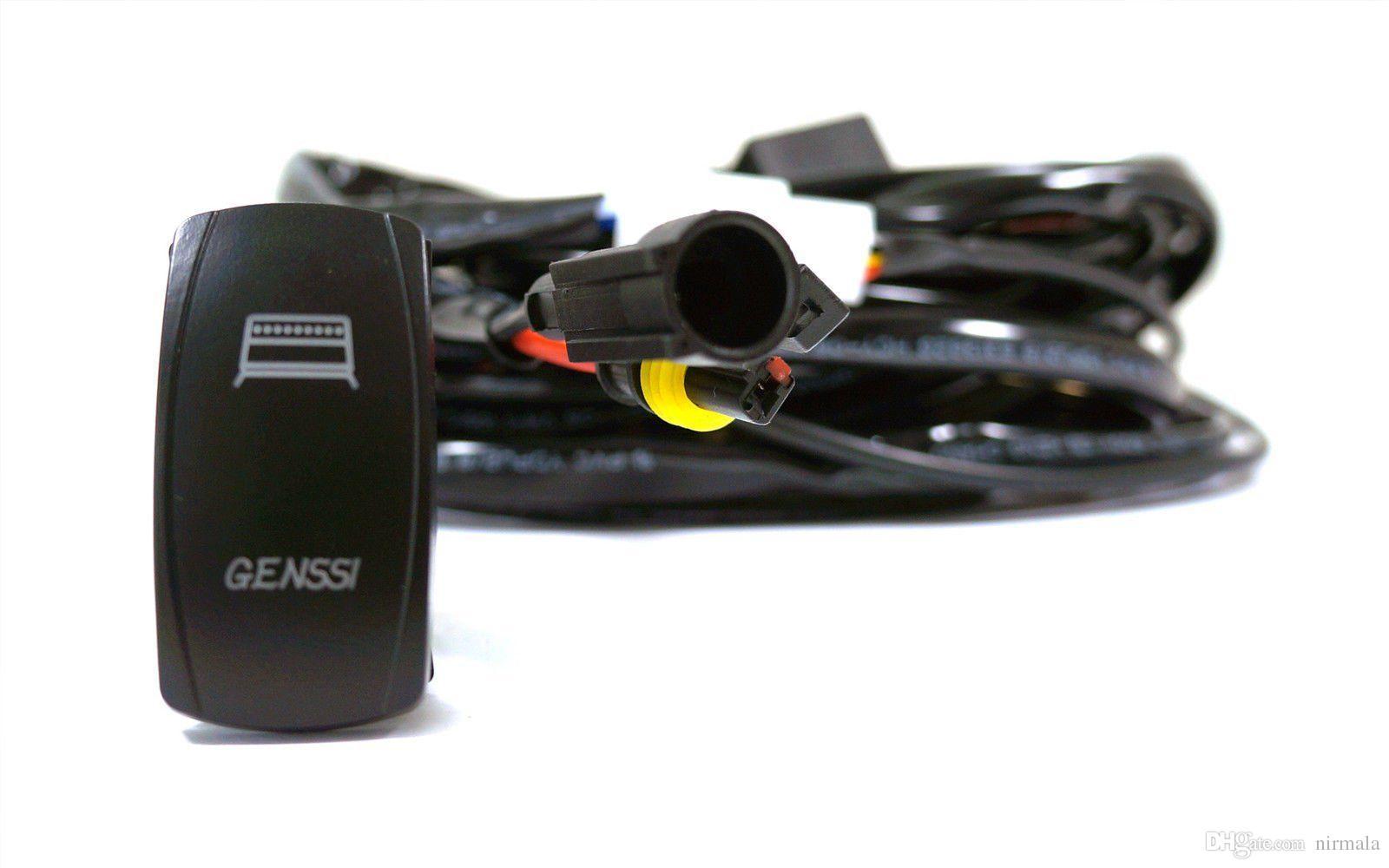 Acheter 40 Amp Off Road Atv / Jeep Led Light Bar Câblage Relais De ...