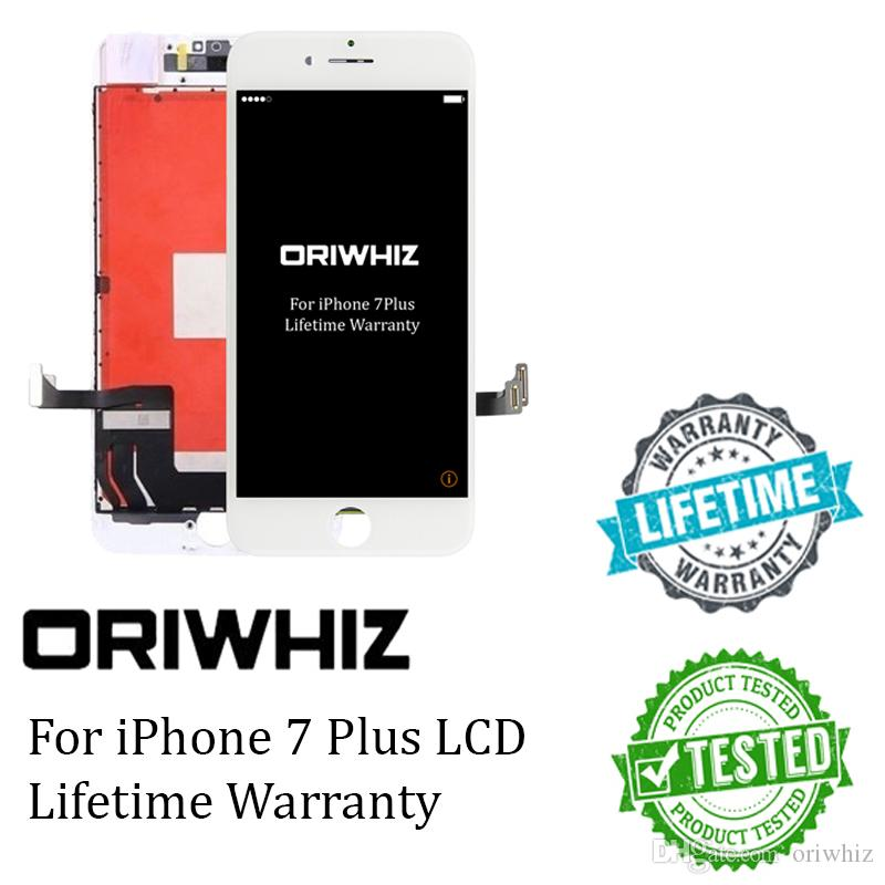 ORIWHIZ Top Grade Quality for iPhone 7 Plus LCD Touch Screen Digitizer Assembly Black and White Perfect Packing Fast Shipping