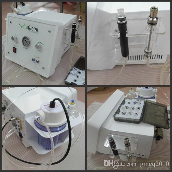 2 in 1 Wasser Dermabrasion Hydra Dermabrasion Diamant Dermabrasion Hydrodermabrasion Microdemrabrasion Gesichtsmaschine für Salon Spa