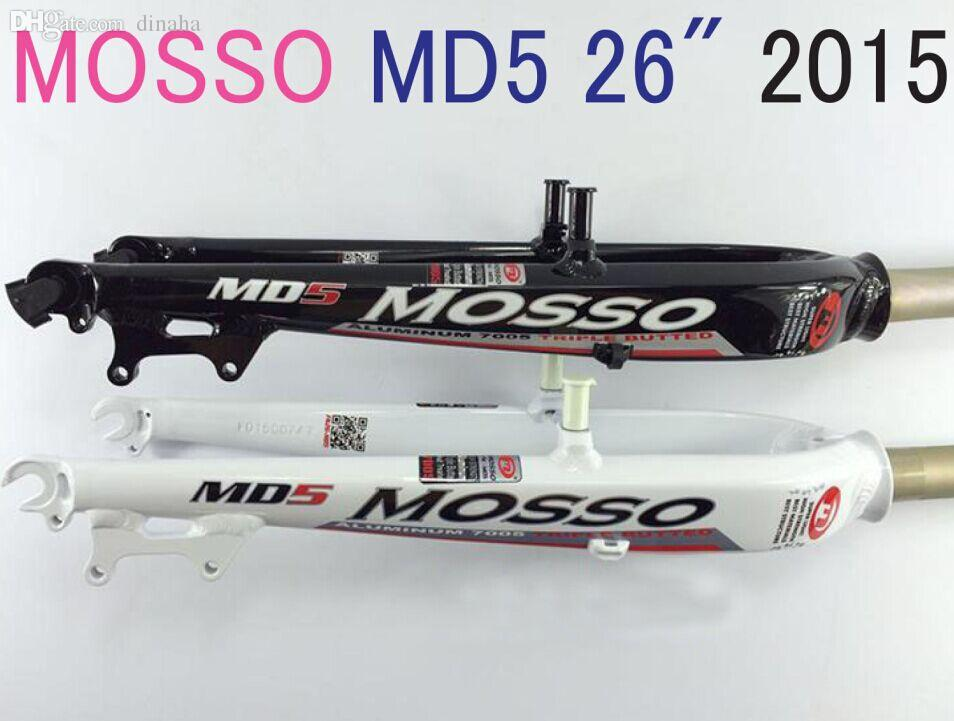 2018 Wholesale Mosso Md5 Bicycle Fork 26 Inch Disc V Brake