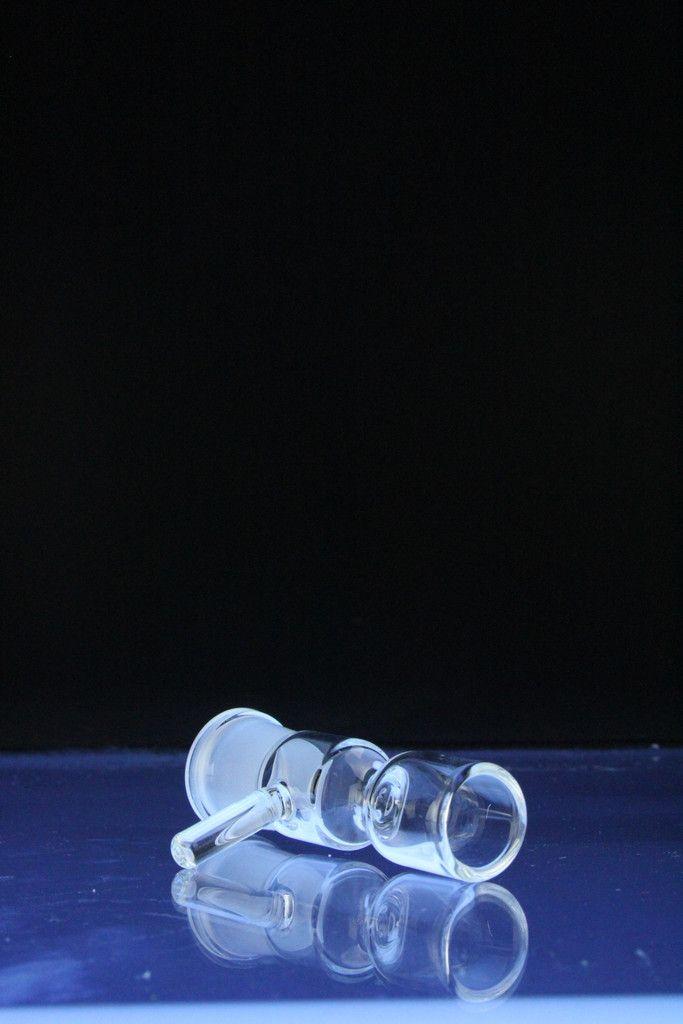 HOTTEST 14mm 19mm Feminino Vidro Pinch Tigela tigela Reversível com Alça 14.5mm 18.8mm Tamanho Comum para Vidro Bong Ashcatcher Tigela De Vidro